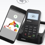 Zrzut ekranu 1 - Screen przedstawia widok aplikacji Android Pay na ekranie smartfona.