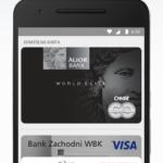 Zrzut ekranu 2 - Screen przedstawia widok aplikacji Android Pay na ekranie smartfona.